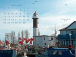 wallpaper September 2006 - lighthouse Timmendorf - island of Poel (D)